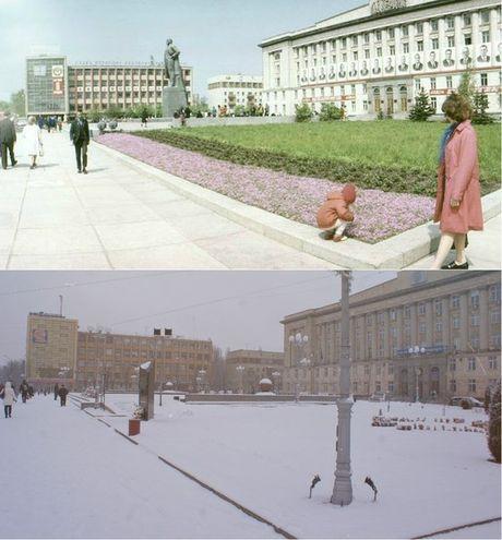 Черкаси: радянські vs сучасні (ФОТО)