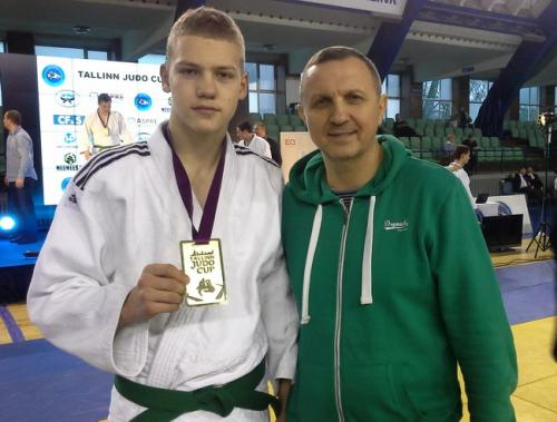 Черкаські дзюдоїсти привезли дві золоті нагороди з Таллінну