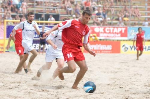 Черкаси серед претендентів на проведення чемпіонату України з пляжного футболу