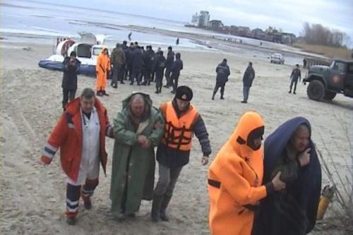 Як черкащани рятував рибалок на Дніпрі