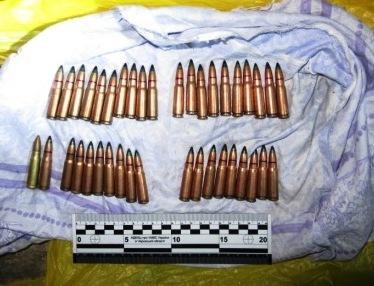 У Черкасах знайшли склад зброї та боєприпасів