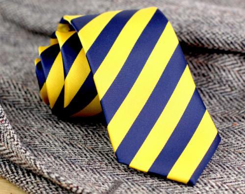 Звенигородські учні ходять до школи у синьо-жовтих краватках