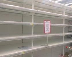 У черкаських магазинах дифіцит чи паніка? (ВІДЕО)