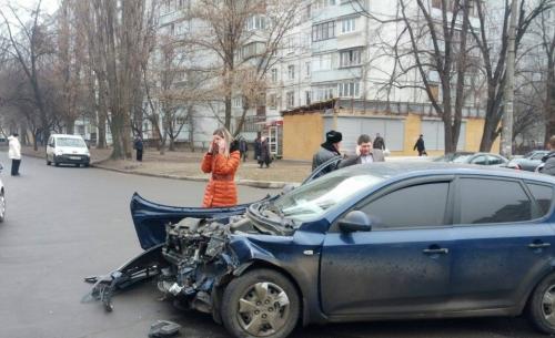 Працівниця прокуратури стала винуватцем cильного ДТП у Черкасах