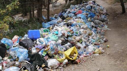 Черкащани викидають сміття прямо посеред двору (ВІДЕО)