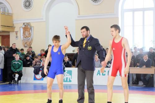 Артем Шевченко здобув золото на престижному турнірі з греко-римської боротьби
