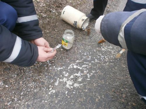 У Смілянському районі розлили 1,5 кілограма ртуті (ФОТО)