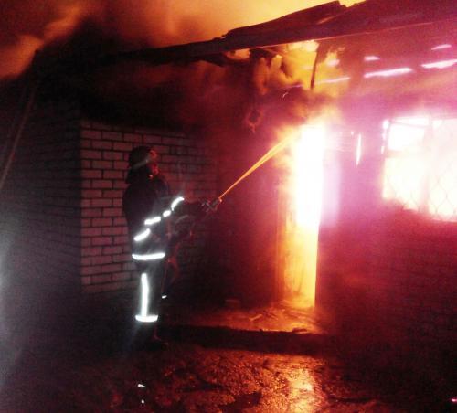 У смілянському кафе вночі згоріло дві людини (ВІДЕО)
