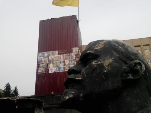 Золотоніські активісти стверджують, міська влада задешево здала Леніна
