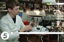 """21-річний студент черкаського політеху розробив """"польовий перетворювач напруги"""""""