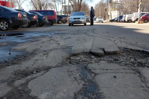 Відремонтовані торік черкаські дороги потребують ремонту