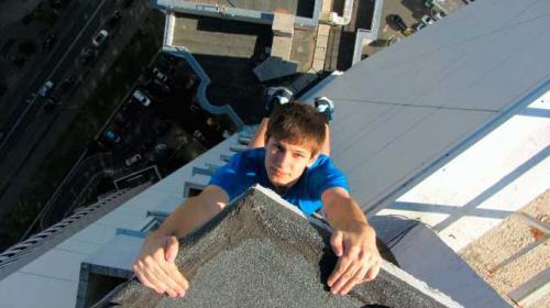 Черкащанин підкорює дахи багатоповерхівок (ВІДЕО)