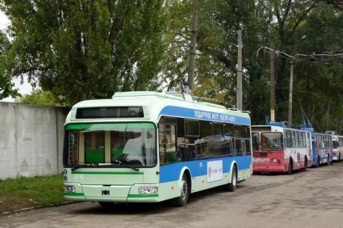 На нові тролейбуси у бюджеті Черкас заклали 23 мільйони гривень