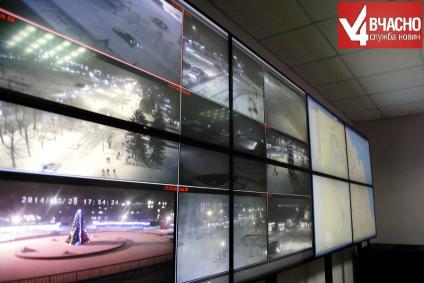 Черкаські міліціонери бачать місто з двадцяти камер
