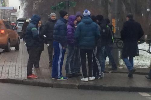 Керівник черкаських тітушек може бути у Криму