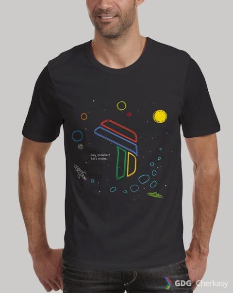 Черкаська дизайнерка може одягнути у свої футболки учасників Google Developers Group