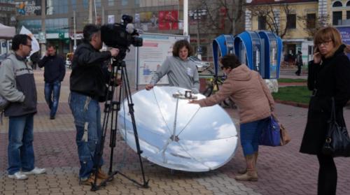 Черкащанам заварять кави на сонячній енергії
