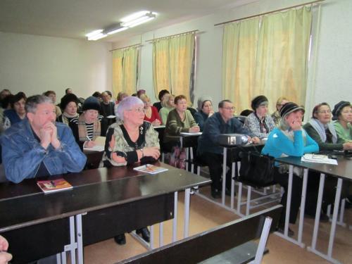 На Черкащині пенсіонери ходять до університету (ВІДЕО)