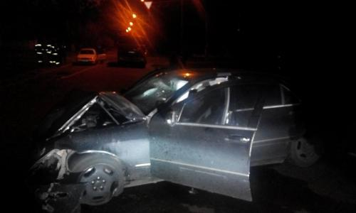 Черкащанин протаранив дві припарковані машини (ВІДЕО)