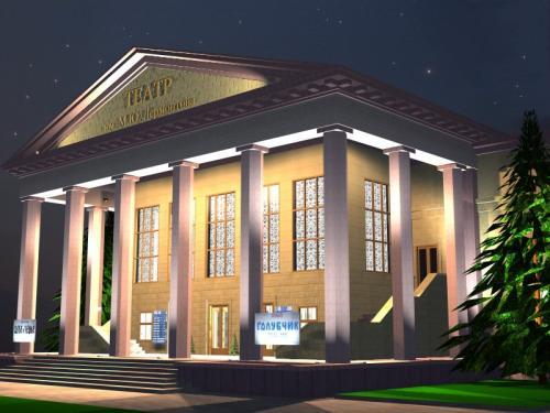 Як театр став рестораном: що збиралися будувати у Черкасах, але так і не побудували