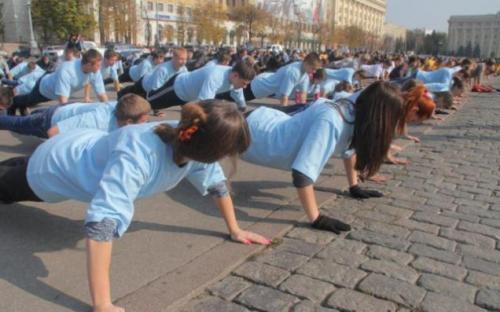 У Черкасах півтори тисячі людей планують встановити національний рекорд