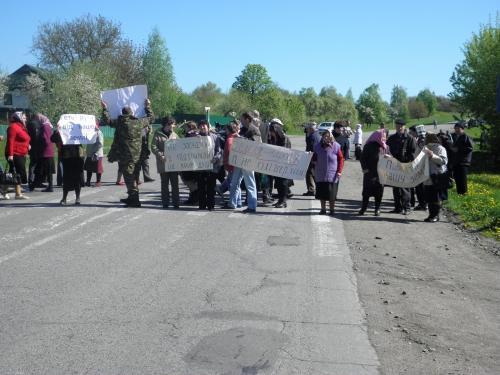 Cеляни перекрили дорогу на Черкащині через депутата облради