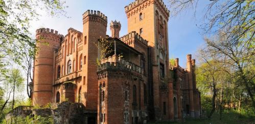 Туристична Україна. Замок графів Шувалових в Тальному на Черкащині (ВІДЕО)