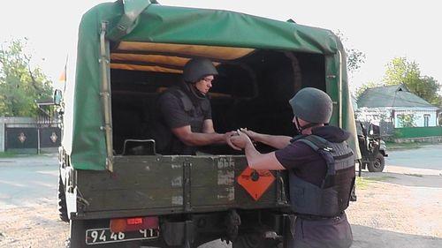 У Шполі взірвали одинадцять снарядів (ВІДЕО)
