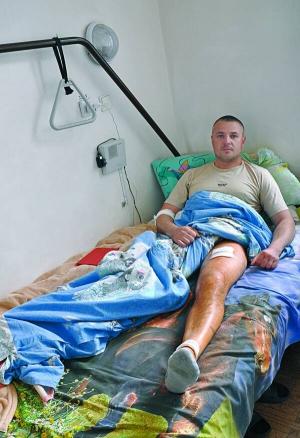 На Черкащині міліціонер прострелив ногу бізнесменові