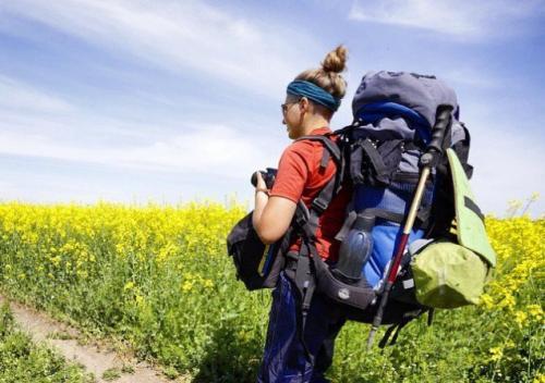 По Черкащині зараз мандрують туристки, які вирішили перетнути всю Україну