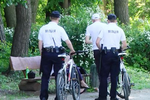 У Черкасах міліція на велосипедах ловить злочинців (ВІДЕО)