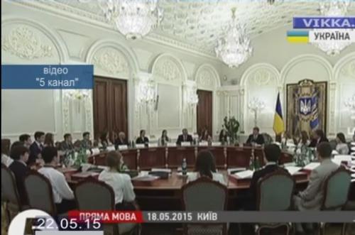 Черкаський школяр-розумник зустрівся з Президентом (ВІДЕО)