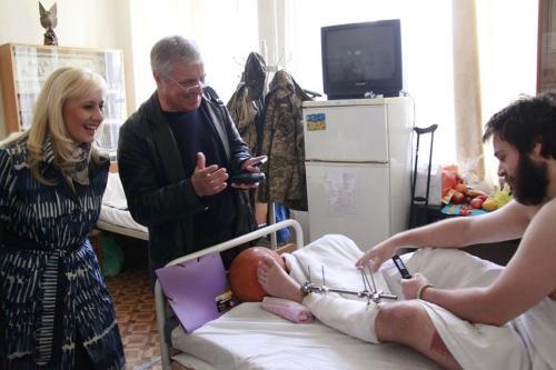 Золотоніський доброволець через вибух міни залишився без частини ноги
