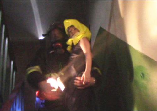 У Черкасах під час пожежі врятували 4-річну дитину