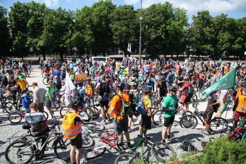 Велосипедисти Черкас відзначили свій день