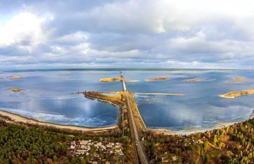 Як виглядає Дніпро із висоти пташиного польоту (ФОТО)
