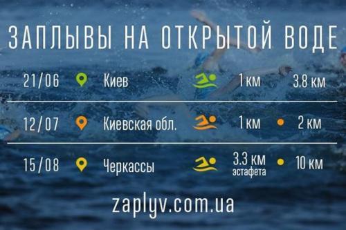 У Черкасах відбудеться 10-кілометровий заплив