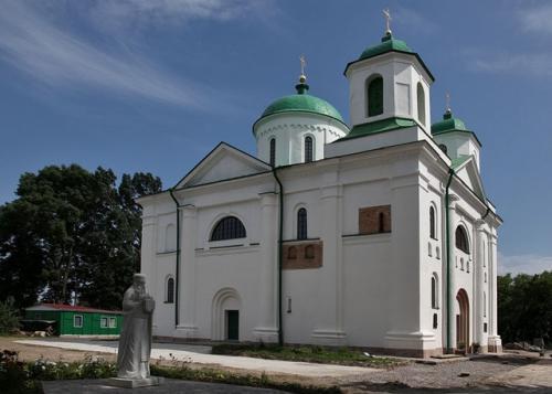 """Успенський собор до Канева """"приплив по Дніпру"""" із Царгорода"""