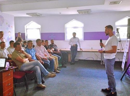 Перший черкаський коворкінг-центр відкрили для ІТ-спеціалістів