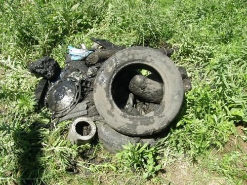"""Черкаські комунальники показали """"скарби"""", знайдені в каналізаціях міста (ФОТО)"""