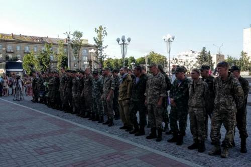 Додому повернулися  солдати й сержанти 14-го мотопіхотного батальйону
