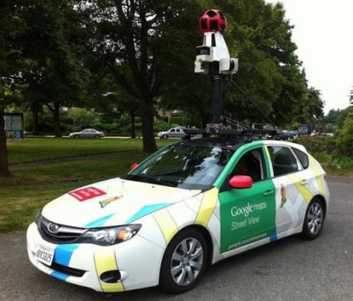Черкасами роз'їжджав Google-мобіль