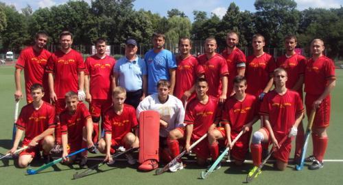 Збірна Черкащини з хокею на траві виграла бронзу чемпіонату України