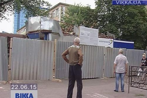 Черкащанам заважає огорожа навкого проблемного магазину