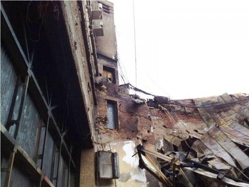 Як виглядає черкаський театр після пожежі (ФОТО)