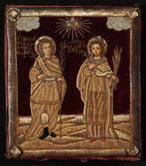 У Черкасах зберігається старовинна ікона вишита особливою технікою