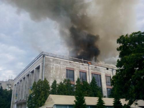 Одарич назвав основну версію пожежі в драмтеатрі