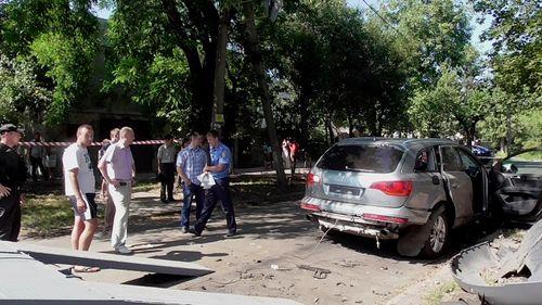 У Черкасах підірвали авто разом із водієм