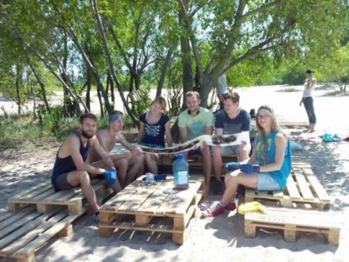 У Черкасах пляж-сміттєзвалище трансформували у громадський простір