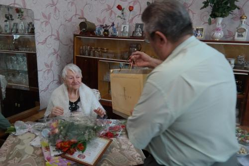 Відомій черкащанці вчора виповнилося 90 років